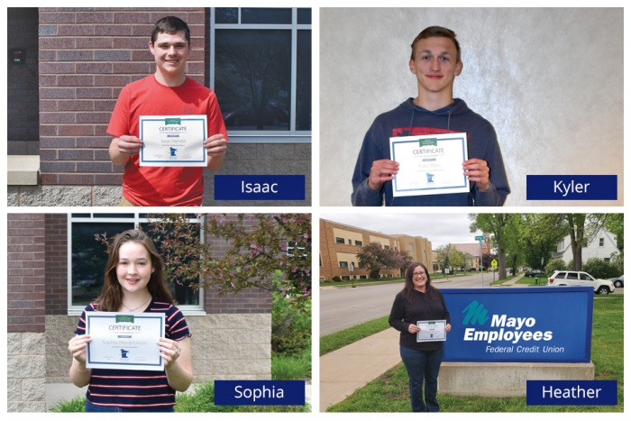 scholarship winners 2020